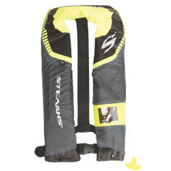 Stearns C-Tek 24G A\/M Inflatable Life Vest - Gray\/Yellow [3000004367]