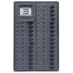 BEP Millennium Series DC Circuit Breaker Panel w\/Digital Meters, 28SP DC12V [M28-DCSM]
