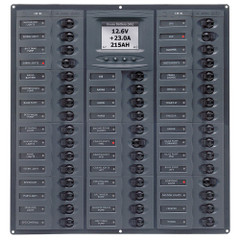 BEP Millennium Series DC Circuit Breaker Panel w\/Digital Meters, 44SP DC12V [M44-DCSM]