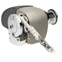 "Maxwell HRC 10-8 Rope Chain Horizontal Windlass 5\/16"" Chain, 5\/8"" Rope 12V, with Capstan [HRC10812V]"