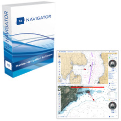 Nobeltec TZ Navigator Software - Digital Download [TZ-100]