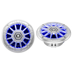 "Boss Audio MRGB65S 6.5"" 2-Way Coaxial Marine Speakers w\/RGB LED Lights [MRGB65S]"