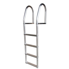 Dock Edge Fixed Eco - Weld Free Aluminum 4-Step Dock Ladder [2074-F]