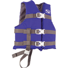Stearns Classic Child Life Jacket - 30-50lbs - Blue\/Grey [3000004471]