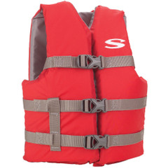 Stearns Classic Youth Life Jacket - 50-90lbs - Red\/Grey [3000004472]