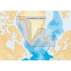 Navionics+ Greenland & Iceland - microSD [MSD\/NAV+20XG\/ROW]