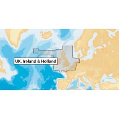 Navionics+ UK, Ireland & Holland - microSD [MSD\/NAV+28XG\/ROW]