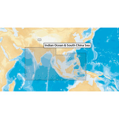 Navionics+ Indian Ocean & South China Sea - microSD [MSD\/NAV+31XG\/ROW]