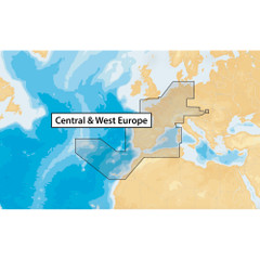 Navionics+ Central & West Europe - microSD [MSD\/NAV+46XG\/ROW]