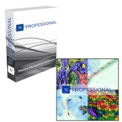 Nobeltec TZ Professional Software On USB Flashdrive & NOAA Charts Installed [TZ-108-118]