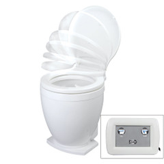 Jabsco Lite Flush Electric 24V Toilet w\/Control Panel [58500-1024]