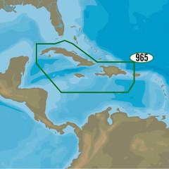 C-MAP 4D NA-D965 - Cuba, Dominican Republic, Caymans & Jamaica [NA-D965]