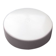 "Monarch White Flat Piling Cap - 12"" [WFPC-12]"