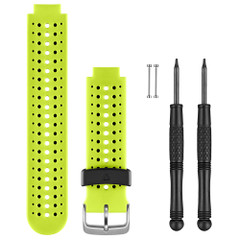 Garmin Replacement Watch Bands - Force Yellow Silicone [010-11251-83]