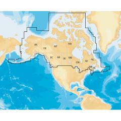 Navionics Navionics+ Regions - Canada & Alaska - Preloaded MSD Format [MSD\/NAV+CA]