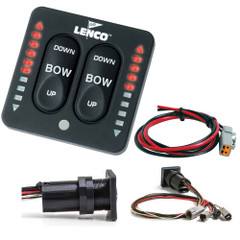 Lenco LED Indicator Integrated Tactile Switch Kit w\/Pigtail f\/Single Actuator Systems [15170-001]
