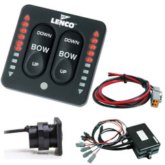 Lenco LED Indicator Two-Piece Tactile Switch Kit w\/Pigtail f\/Dual Actuator Systems [15271-001]