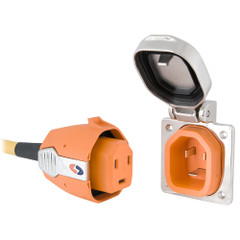 SmartPlug 30 Amp Inlet  Plug Combo Stainless Steel No Thermostat - Boat  RV Side [B30ASSYNT]
