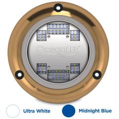 OceanLED Sport S3124s Underwater LED Light - Ultra White\/Midnight Blue [012103BW]