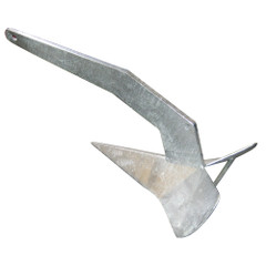 Quick Delta Type Anchor - 16lb Galvanized f\/23-33' Boats [MSVANDTZN075QL]