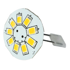 "Lunasea G4 Back Pin 0.9"" LED Light - Cool White [LLB-21BC-21-00]"