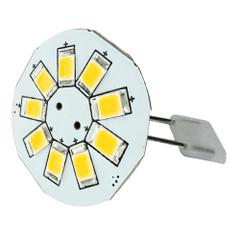 "Lunasea G4 Back Pin 0.9"" LED Light - Warm White [LLB-21BW-21-00]"