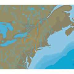 C-MAP NT+ NA-C333 Hudson Champlain & Erie Barge Canal - C-Card Format [NA-C333C\/CARD]