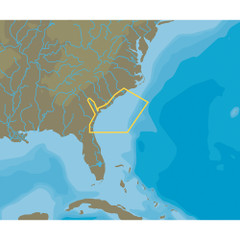 C-MAP NT+ NA-C337 Wilmington to Jacksonville - FP-Card Format [NA-C337FPCARD]