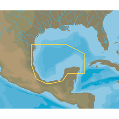 C-MAP NT+ NA-C413 Brownsville to Cancun, Mexico - FP-Card Format [NA-C413FPCARD]