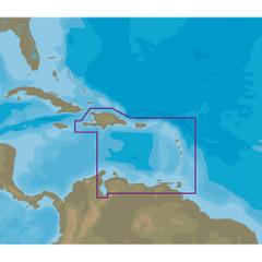 C-MAP NT+ NA-C510 Eastern Caribbean Sea - C-Card Format [NA-C510C\/CARD]