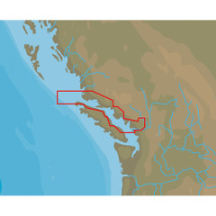 C-MAP NT+ NA-C711 Point Roberts to Cape Scott - C-Card Format [NA-C711C\/CARD]