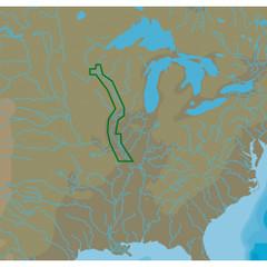C-MAP NT+ NA-C052 Upper Mississippi River - C-Card Format [NA-C052C\/CARD]