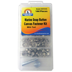 Handi-Man Canvas Fastner & Tool Kit - 144 Pieces [970145]