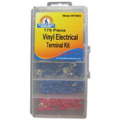 Handi-Man Electrical Terminal Kit - 175 Pieces [970002]
