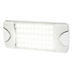 Hella Marine DuraLED 50 Low Profile Interior\/Exterior Lamp - White LED Spreader Beam [980629001]