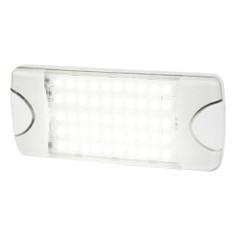 Hella Marine DuraLED 50 Low Profile Interior\/Exterior Lamp - White LED Spreader Beam [980629001]