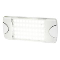 Hella Marine DuraLED 50 Low Profile Interior\/Exterior Lamp - Wide White Spreader Beam [980629501]