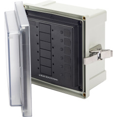 Blue Sea 3113 SMS Surface Mount System Panel Enclosure - 6 Circuit Blank [3113]