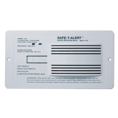 Safe-T-Alert 65 Series Flush Mount Carbon Monoxide Alarm [65-542-WHT]