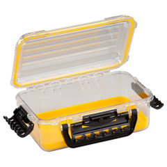 Plano Waterproof Polycarbonate Storage Box - 3600 Size - Yellow\/Clear [146000]