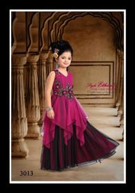 Adorable Purple Kids Evening Gown15