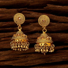 Antique look Jhumki style Earrings