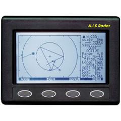 Clipper AIS Plotter\/Radar - Requires GPS Input  VHF Antenna [CLIP-AIS]