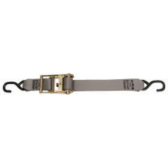 "CargoBuckle Multipurpose Ratchet Strap Tie-Down w\/S-Hooks - 2"" x 15 [F13758]"