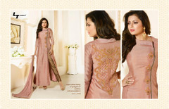 Amazing Onion Shade Pure Chanderi Silk Salwar Kameez1223