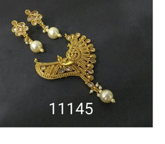 Amazing Gold Plated Stylish Mangal Sutra Set1184