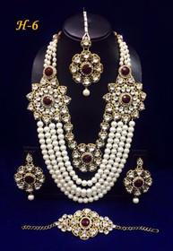 Amazing Heavy Stone work Necklace Set1589
