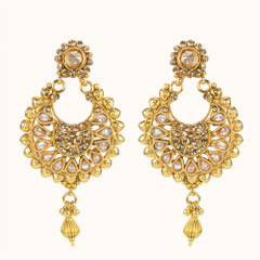 Stunning Gold Plated Earrings1866