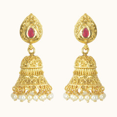Stunning Gold Plated Earrings1870