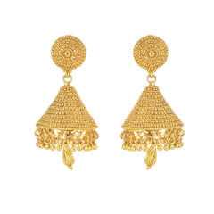 Stunning Gold Plated Earrings1877